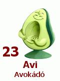 23. Avi Avokádó